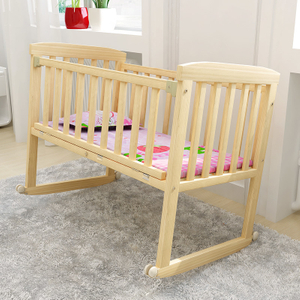 3 in 1 Multi Functions Convertible Wood Baby Crib