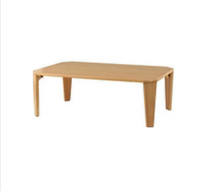 Solid Wood Rectangular Table for Kids