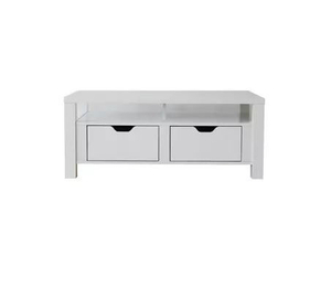 White highlights paint coffee table