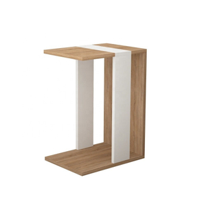 Modern Solid Wood C Side Table for Coffe