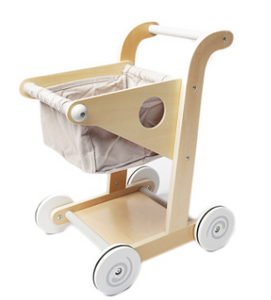 Wooden Toy Trolley Walking Helper for Kids